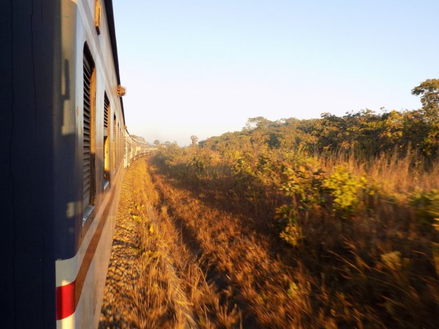 Best Travel Photos of 2017 - Tazara train between Dar and New Kapiri Mposhi