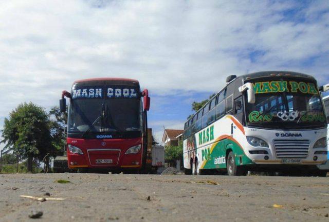 Buses from Nairobi to Burundi and Harare Zimbabwe Mash East Africa