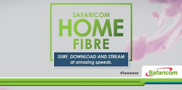 New Safaricom Home Fibre Customers To Get 2 Month 50% Off