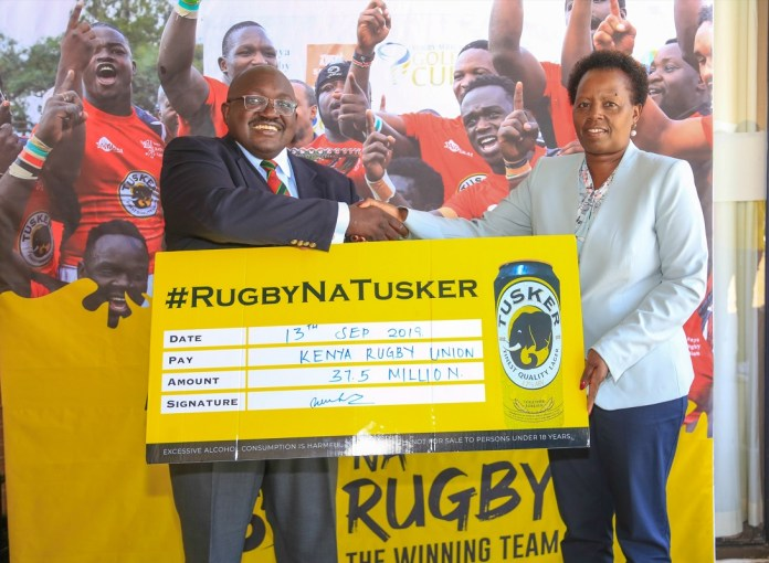 Tusker Lager Announces Kshs 115 Million Investment In Kenya Rugby