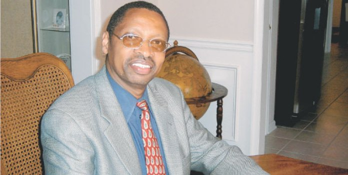 Dr George Njoroge at his office in New Jersey on June 4, 2011.