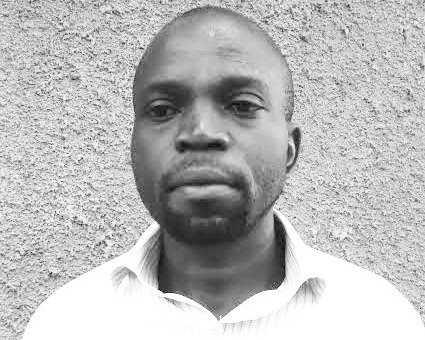 Journalist Eric Oloo who was found dead inside Ugunja Deputy OCS Sabrina Kerubo's home on Thursday, November 21.
