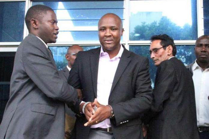 Nandi Hills MP Alfred Keter arrested at the Central Bank of Kenya on February 16, 2018