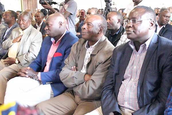 A section of the Kieleweke team attending a service at the Kaharo ACK Church on May 19, 2019.