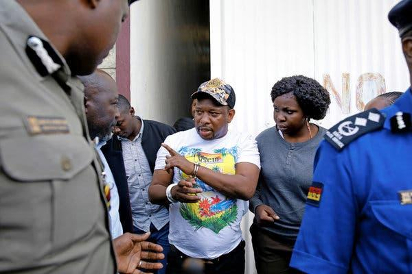 Nairobi Governor  Mike Sonko escorted to the EACC headquarters on December 6, 2019.