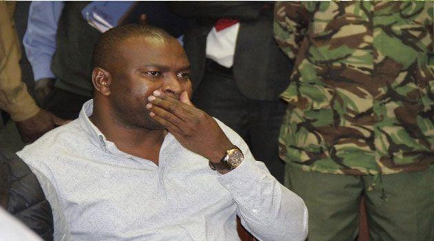 Former Sports CS Rashid Echesa appears before court on February 17, 2020.