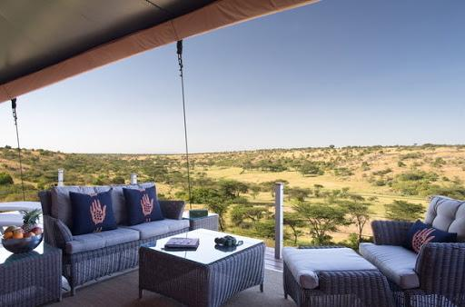 The view from the Mahali Mzuri