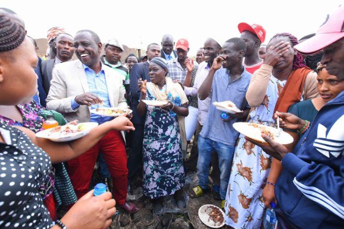 Deputy President William Ruto joined Kenyans at a thanksgiving organised by McDonald Mariga on November 22.