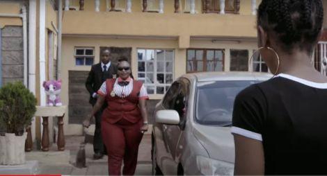 Detective Jane Mugo at her home in Nairobi