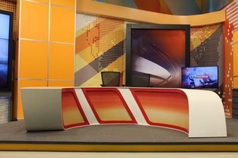 File photo of K24 news studio.