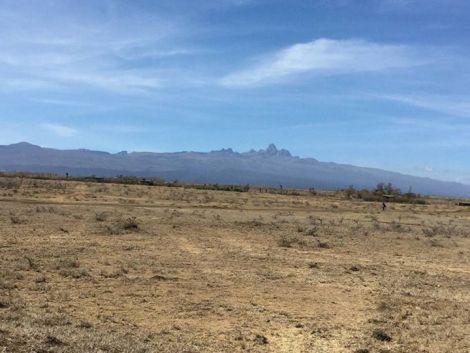 A piece of land in Nanyuki in Laikipia county