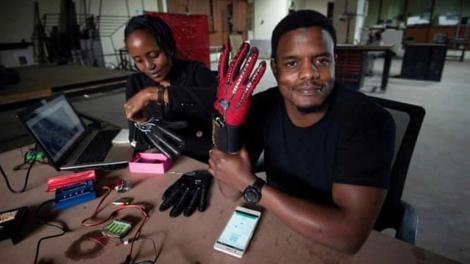 Twenty-five-year-old Kenyan engineer and innovator, Roy Allela, has created a set of gloves that will ultimately allow better communication between those who are deaf and those who are hearing