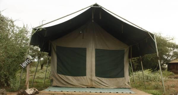 Kenya budget safari Tented camp