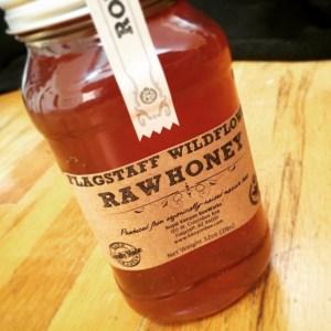Flagstaff farmers market raw wildflower honey