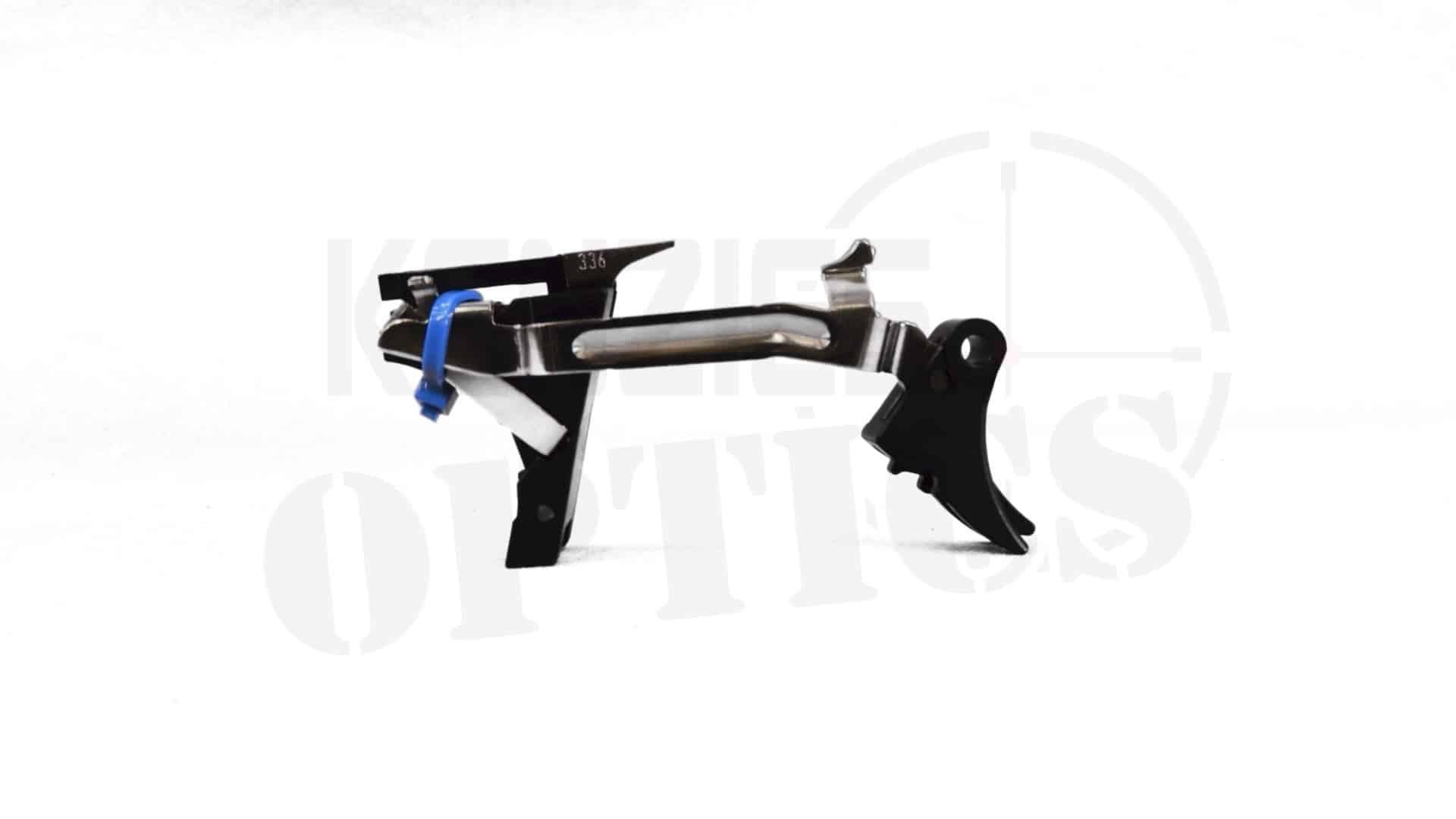 Zev Technologies Adjustable Fulcrum Trigger Drop In Kit 1st 3rd Gen 9mm Blk Blk Kenzie S Optics
