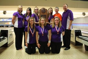 Girls Bowling 3rd at State