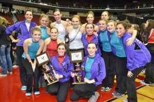 Little Feathers, Color Guard Earn State Honors