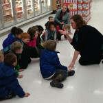 Students discover a lot of exciting things in pre-k. What do you think they are discovering in the frozen food section at Hy-Vee?