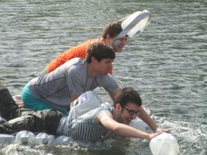 Milk Jug Canoe Races