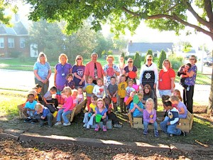 Eagle Scout Project Thrills PreK Students