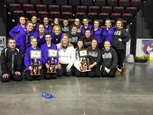 Little Feathers/Color Guard Earn State Honors