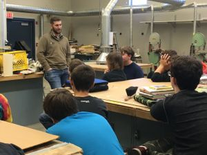 Middle School Holds Career Day