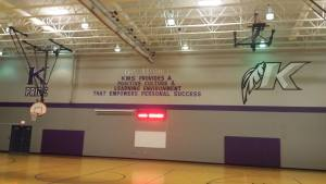 PTO Gives KMS Gym New Look