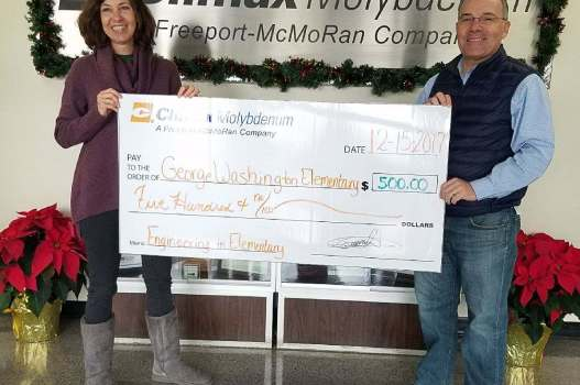 George Washington awarded Freeport McMoran Mini-grant