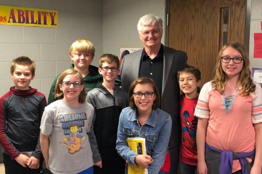 Representative Kurtz Visits Keokuk Schools