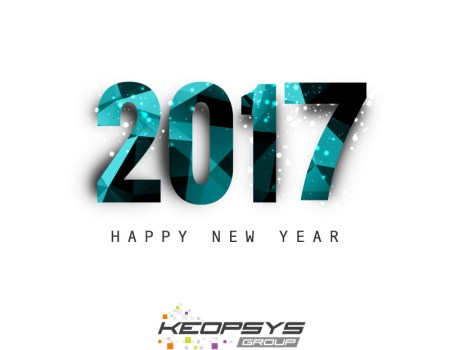 Excellent and wonderful new year 2017 Keopsys company 10