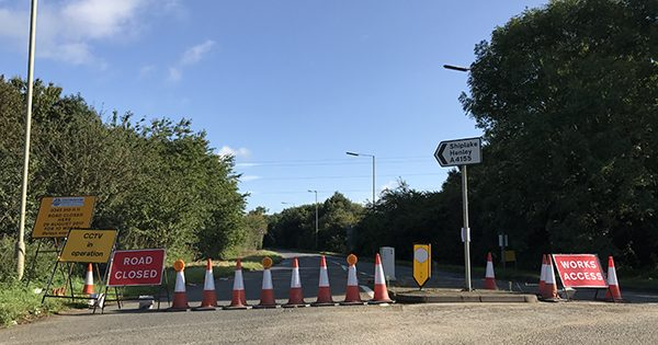 a4155 henley to reading road closure