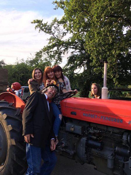new inn pub kidmore end wild west tractor run