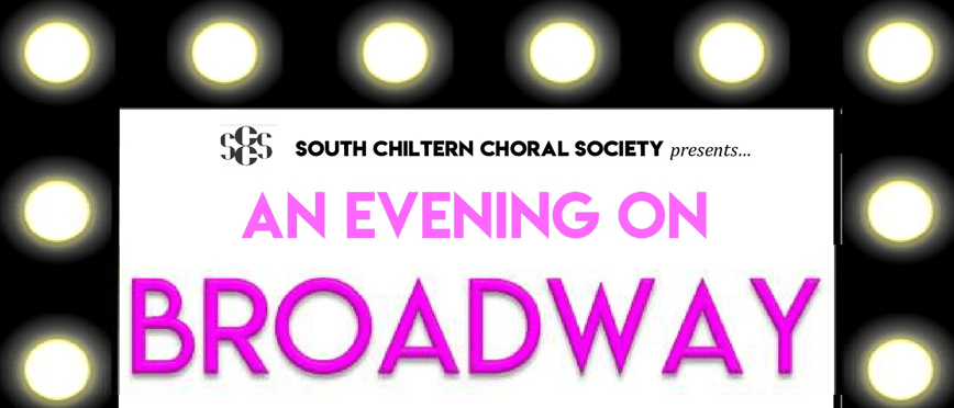 an evening on broadway poster