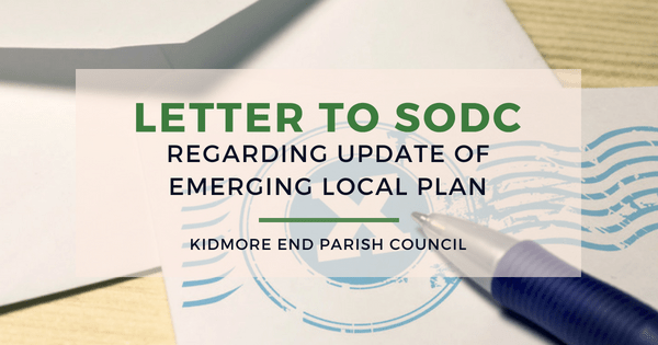 letter to sodc emerging local plan