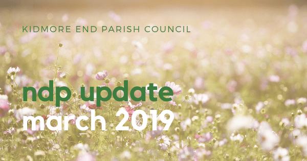 NDP Update Kidmore End Parish Council