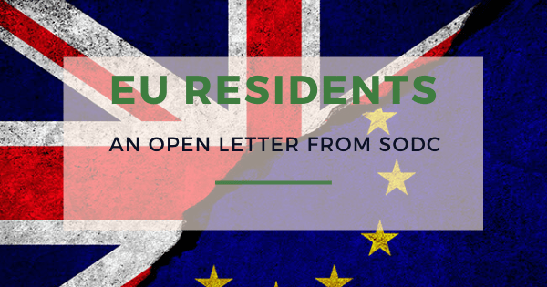letter to EU residents from SODC
