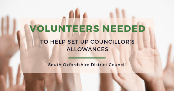 South Oxfordshire District Council (SODC) is looking for volunteers to join a panel to help set councillors' allowances.