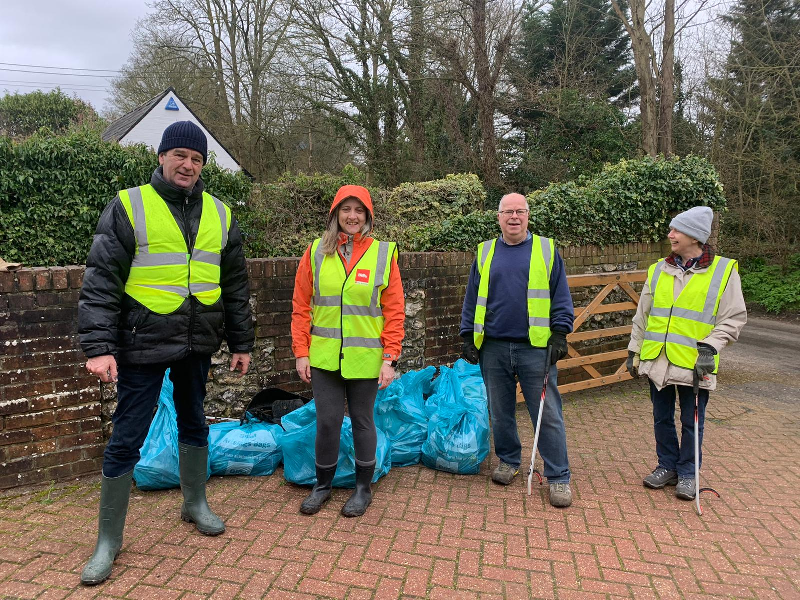 Litter pick up March 15th
