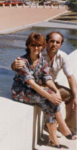 Kollár Lajos és felesége