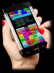 hospitality hand held ordering pad for restaurants