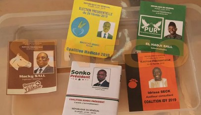bulletin de vote senegal