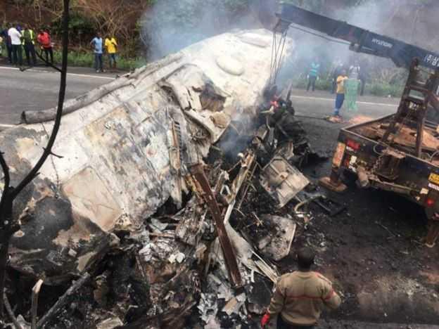 un accident fait plusieurs morts au ghana