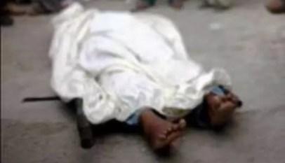 un enfant tué à malika