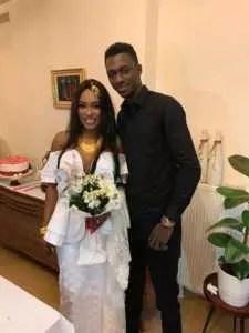 tima wed 225x300 Le mariage de la jet setteuse Tyma Sall Aidara (Photos)