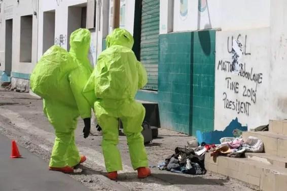 Colis suspect en Ville: Le propriétaire de la valise arrêté