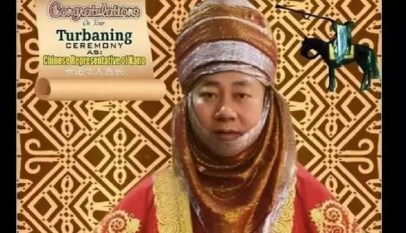 un chinois intronisé roi en chine