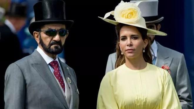 Londres: L'émir de Dubai et sa femme devant le juge