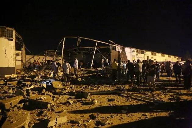 Libye: un raid aérien a tué plus de 100 migrants dont des sénégalais