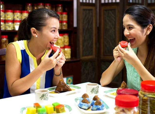 Image result for cny eating