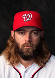 VIERA, FL - FEBRUARY 23:  Jayson Werth #28 of the Washington Nationals poses for a portrait at Space Coast Stadium during photo day on February 23, 2014 in Viera, Florida.  (Photo by Rob Carr/Getty Images)